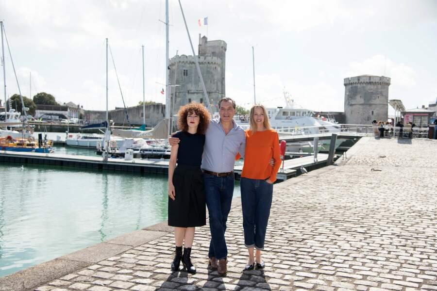 Le trio des Petits Meurtres d'Agatha Christie a conquis La Rochelle