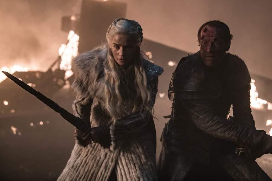 Ser Jorah défendra sa reine Daenerys jusqu'au bout…