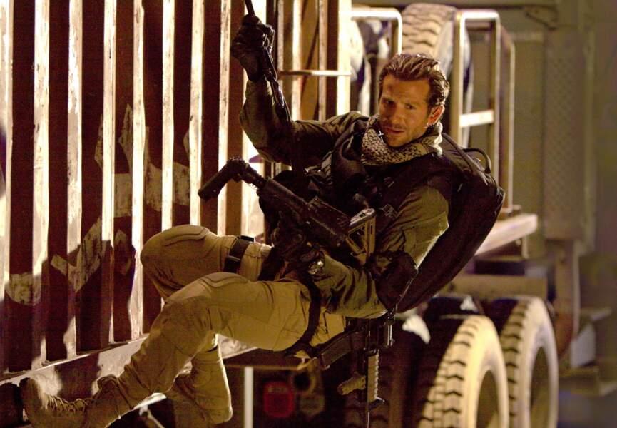Dans le film, Futé prend les traits de Bradley Cooper et a toujours la gâchette facile...