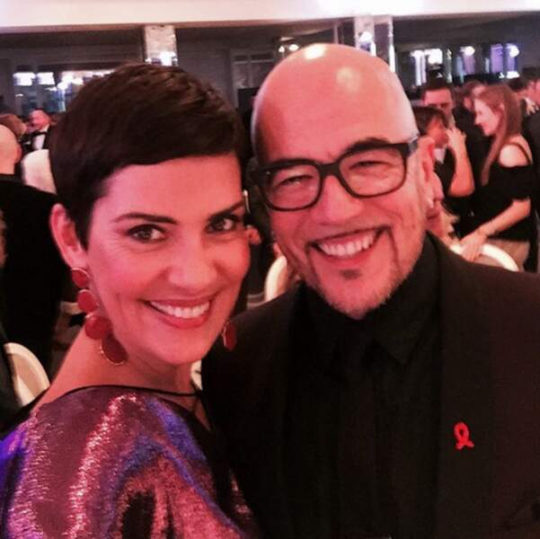 C'est sûr que ça a plus de gueule que ce selfie de Cristina Cordula et Pascal Obispo.