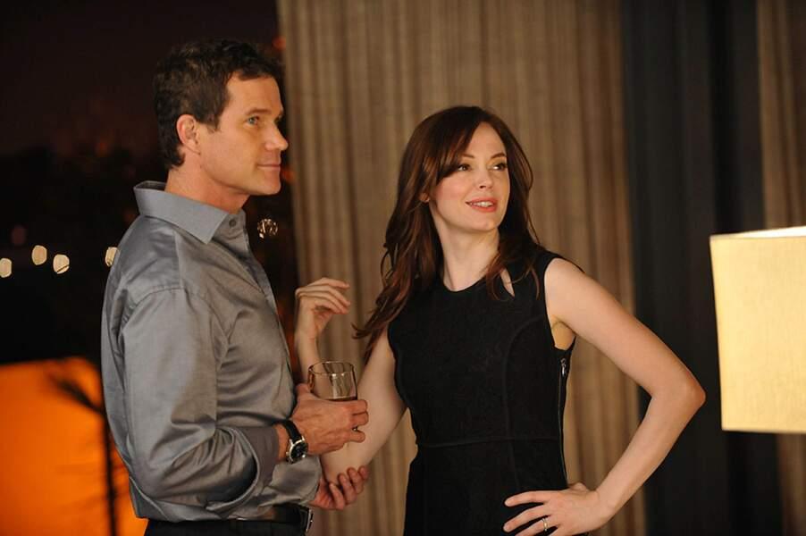 Rose McGowan avait repris le rôle de Teddy la psychopathe dans l'ultime saison du show.