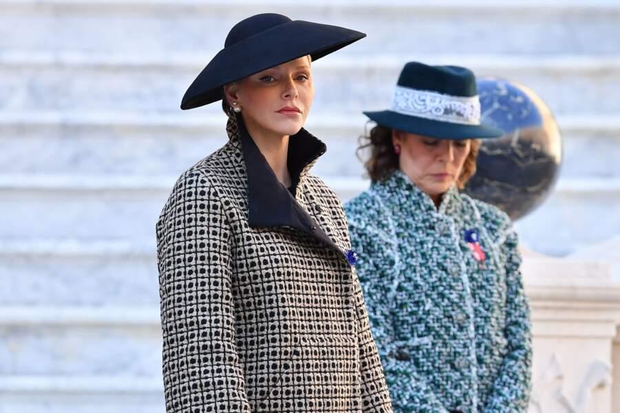 La Princesse Caroline de Hanovre aux côtés de Charlène