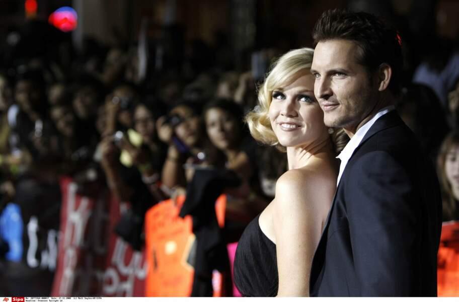 Un couple glamour, ici à l'avant-première de Twilight. Avant leur divorce, en 2013