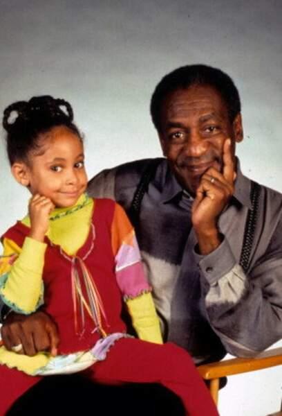 Raven-Symoné jouait la petite Olivia, nouveau personnage vers la fin de la série