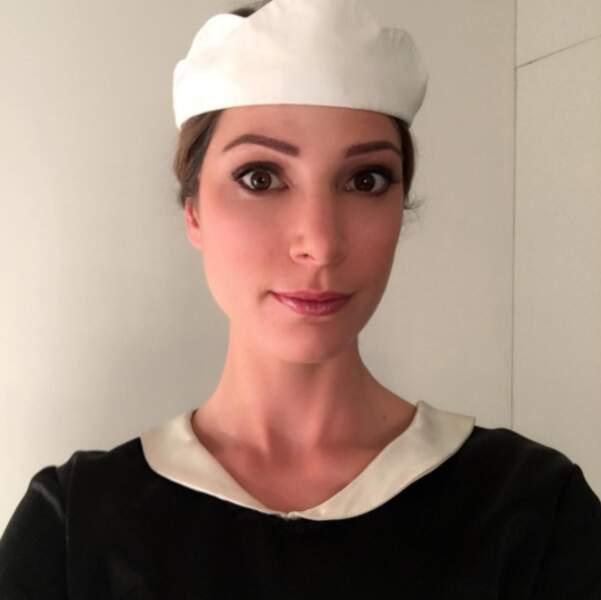 Dans Un chapeau de paille d'Italie, diffusé le 25 décembre, la miss météo joue une bonne