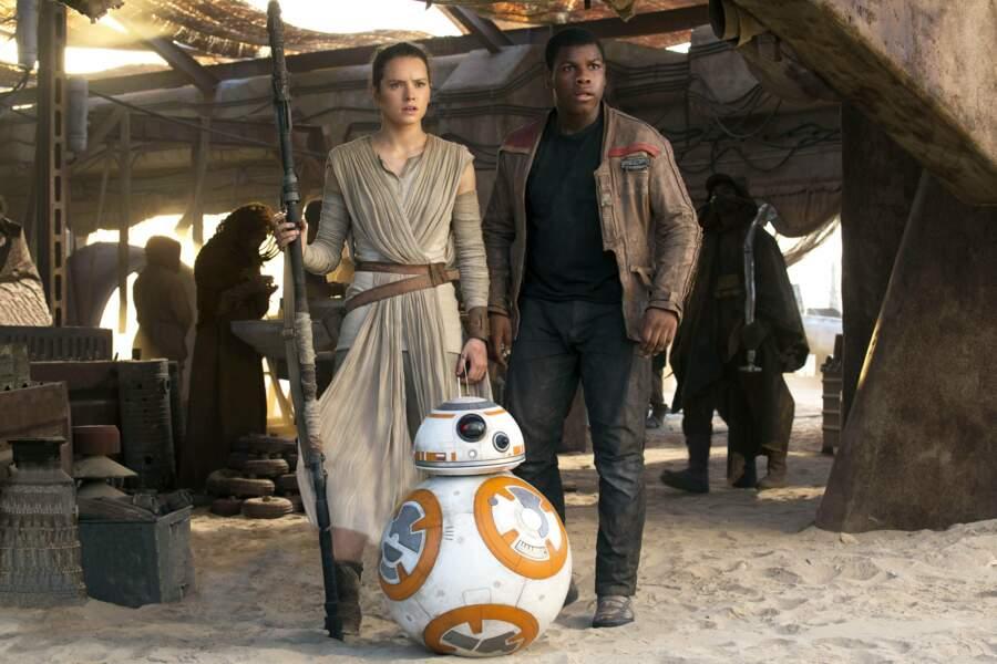 Rey, Finn et BB8, la fine équipe du Réveil de la Force