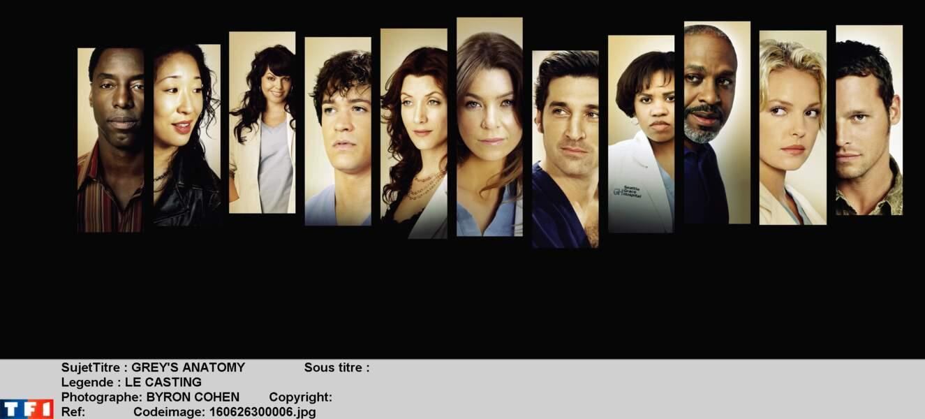 Depuis 2005, le casting de la série Grey's Anatomy a beaucoup changé !