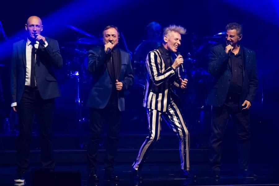 Les chanteurs stars des années 80 ont donné de la voix
