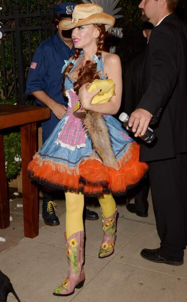 Look western pour Gwen Stefani.