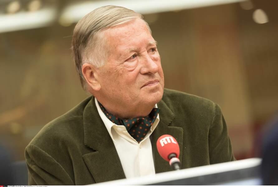 Alain Duhamel a 79 ans mais débat toutes les semaines dans Face à Duhamel sur BFMTV