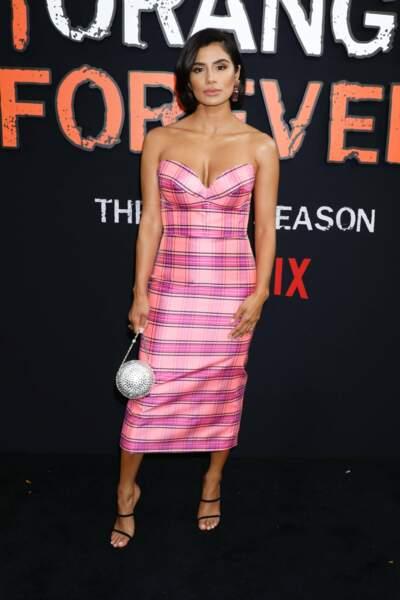 Mais qui voilà ? Diane Guerrero, absente de la saison 6, était bel et bien présente à l'avant-première !