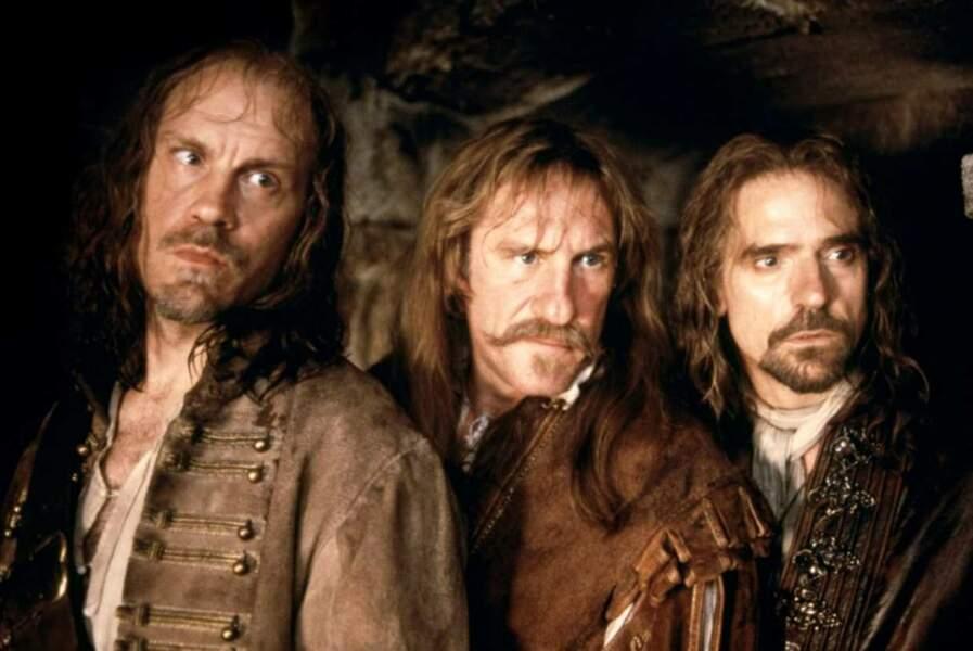 """Gérard Depardieu dans """"Les 3 Mousquetaires"""""""