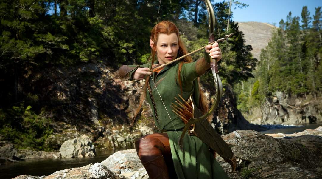 Dans Le Hobbit, l'Elfe Tauriel c'est elle (2013)
