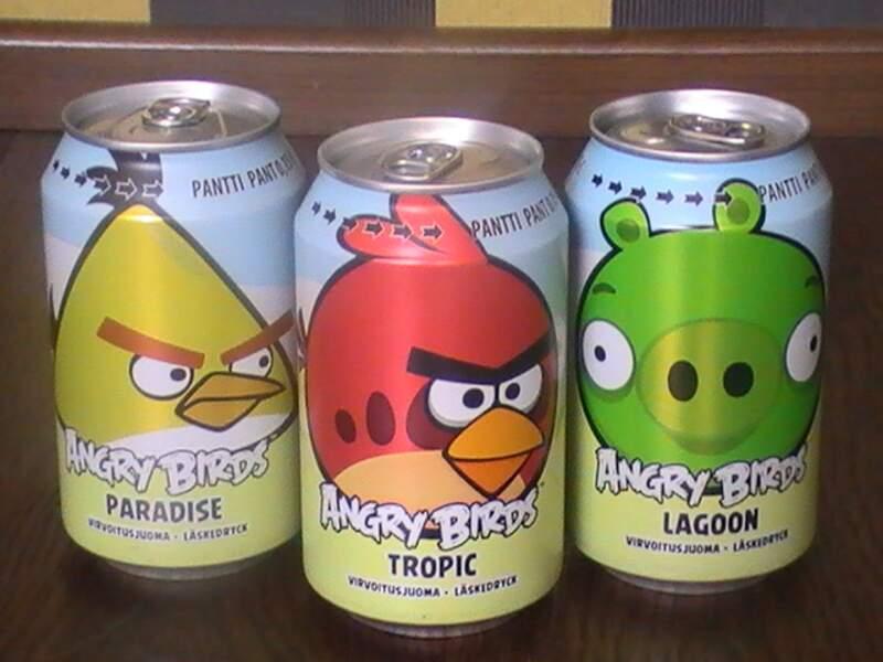 Sodas Angry Birds
