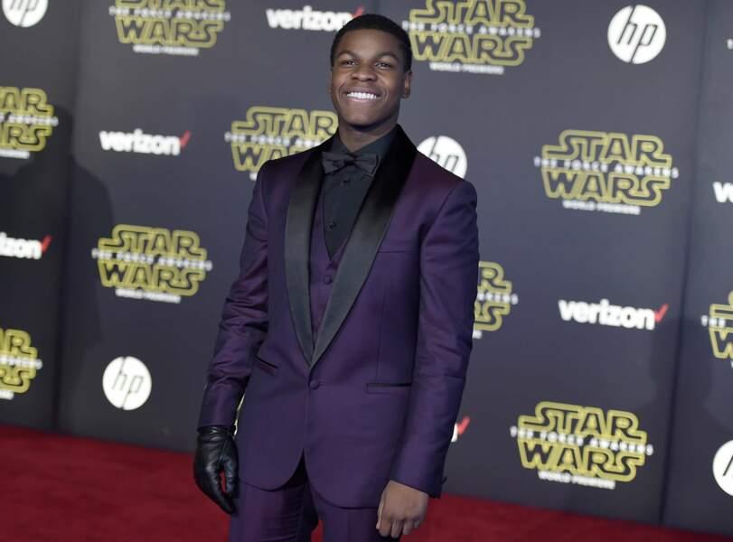 John Boyega est content d'être l'une des stars du Réveil de la Force