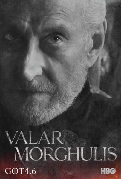 Charles Dance prête son visage à Tywin Lannister, seigneur de Castral Roc