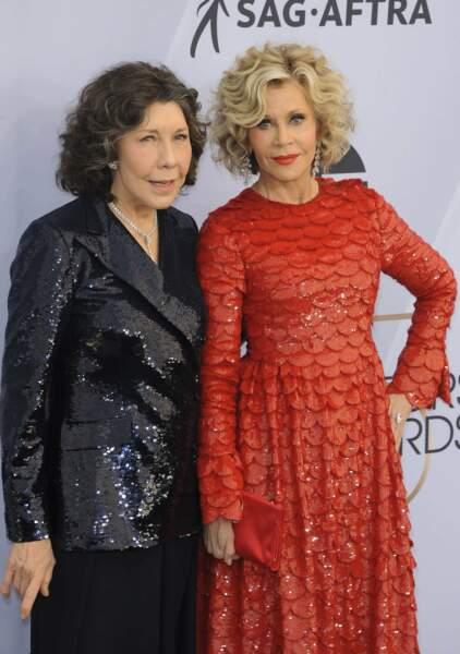 Les deux font la paire : Lily Tomlin et Jane Fonda, les stars de la série de Netflix Grace & Frankie