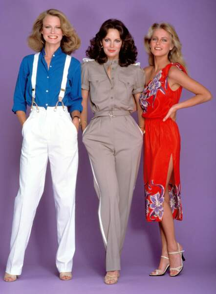 Le trio a changé : Shelley Hack, Jaclyn Smith, Cheryl Ladd
