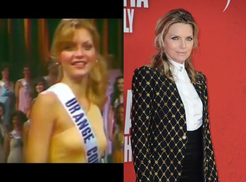 Michelle Pfeiffer a été sacrée Miss Orange County 1978 avant d'être révélée dans Scarface !