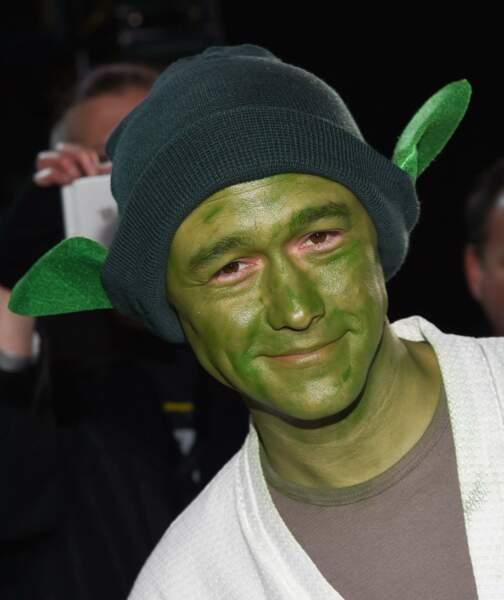 Joseph Gordon-Levitt est le seul à avoir sorti le déguisement de... Shrek ?