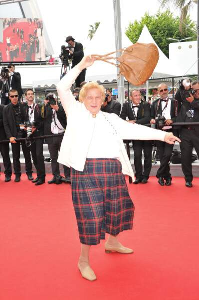 Mais que faisait Mme Doubtfire sur le tapis rouge... ?
