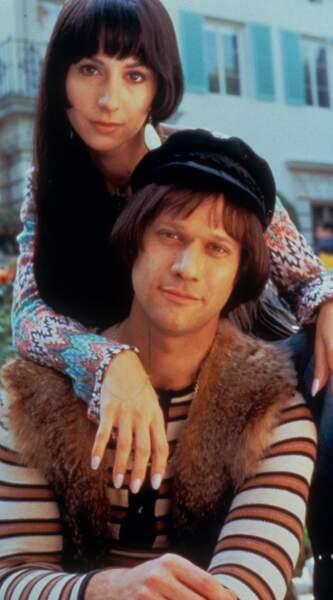 Cher et Sonny Bono, décédé le 5 janvier 1998.