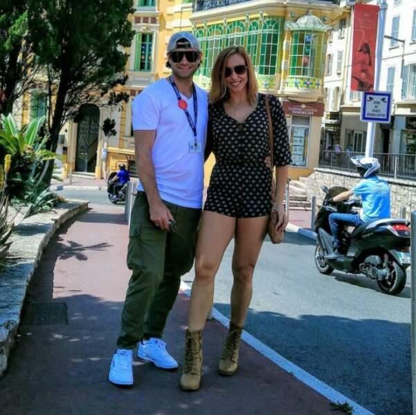 Voici Johanna Rae. Elle est arrivée à Cannes en compagnie du jeune producteur Justin LeBrun