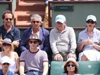 Mélanie Thierry, Raphaël, Estelle Lefébure, David Hallyday, Jean-Paul Belmondo, Patrick Bruel… les people nombreux à Roland-Garros