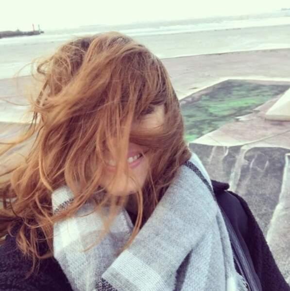 Rachel Legrain-Trapani a prouvé qu'elle était une fille dans le vent.