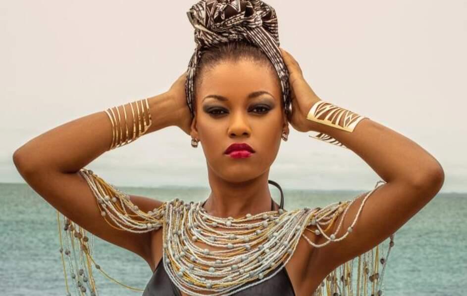 Voici Reine Ngotala Obiang, Miss Gabon