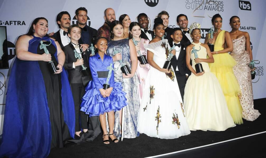 Quand tout le cast de la série This is Us se réunit, c'est impressionnant !