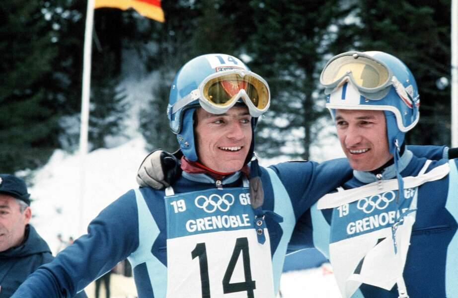 Jean-Claude Killy a été triple champion olympique de ski alpin aux JO de Grenoble de 1968