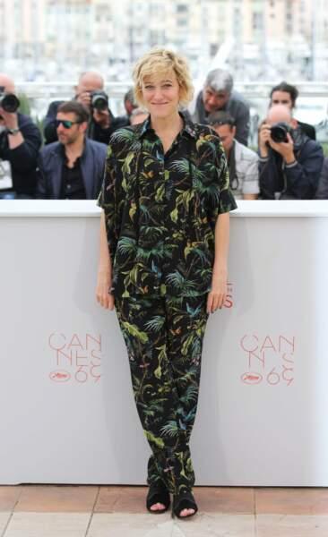 Tout comme Valeria Bruni Tedeschi, au casting du film