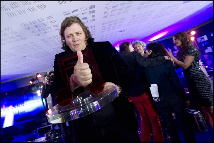 Rover, satisfait d'avoir remporté le premier prix Talent tout 9.