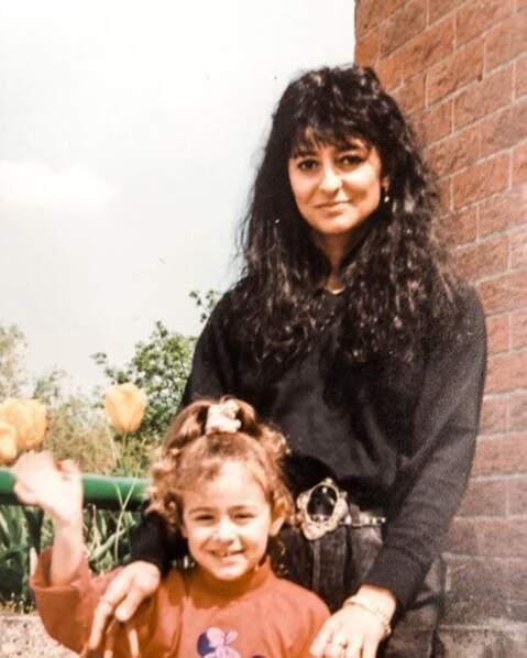 Ça, c'est Rachel Legrain-Trapani et sa maman Silvana.
