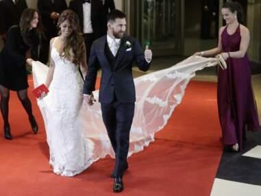 Les stars du foot et leurs femmes ont assisté au mariage de Lionel Messi et sa chérie