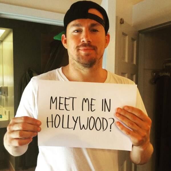Te rencontrer à Hollywood ? Euh oui, nous on veut bien !