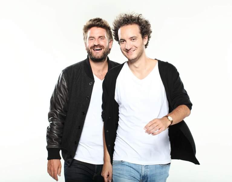 David Marsais et Grégoire Ludig reviennent avec Le Palmashow