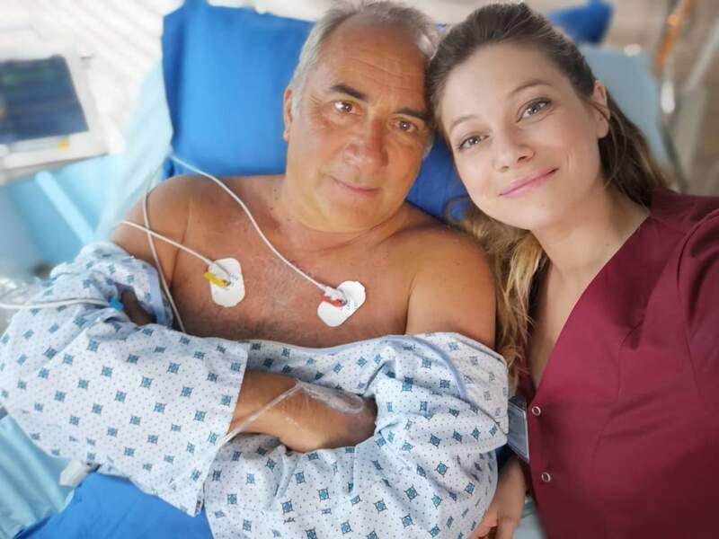 Bienvenue sur le tournage de Nurses, la nouvelle série médicale de TF1 avec Florence Coste et Antoine Duléry...