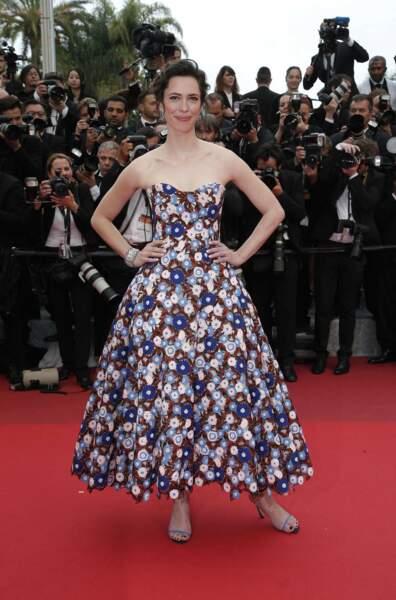 L'actrice Rebecca Hall, belle plante