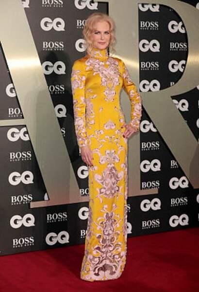 La comédienne Nicole Kidman