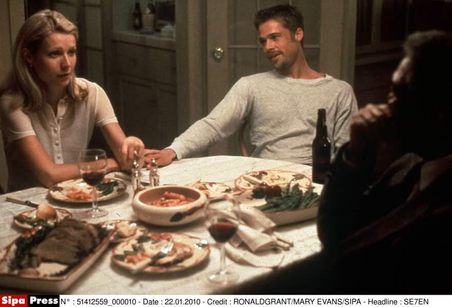 Brad Pitt et Gwyneth Paltrow se rencontrent sur le tournage de Seven en 1994