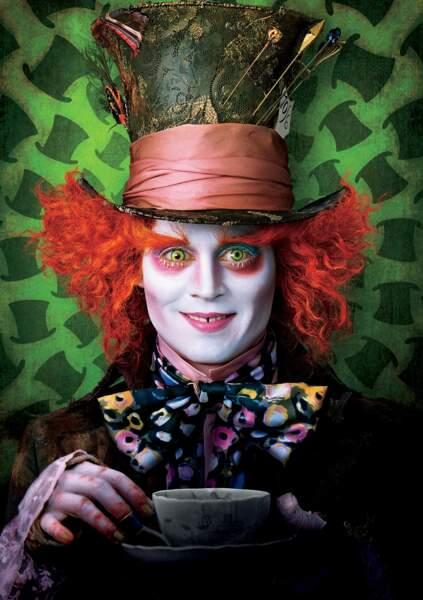 Pour la version live, les studios ont confié le rôle à Johnny Depp