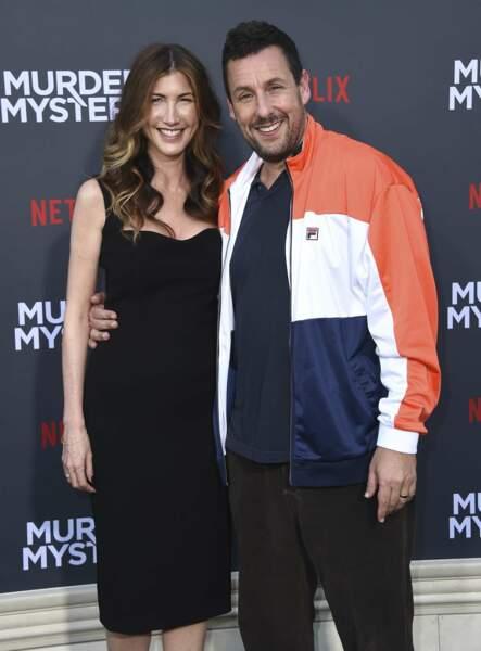 Adam Sandler et sa femme Jackie
