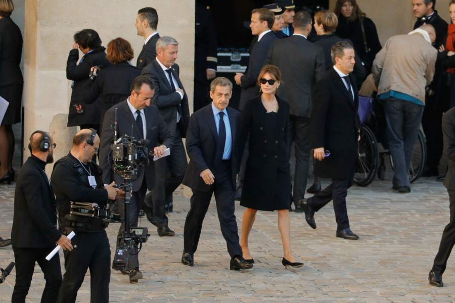 Nicolas Saroky est venu accompagné de Carla Bruni