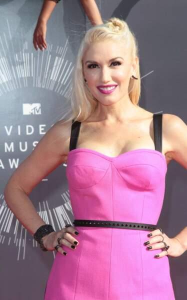 Autre star qui a misé sur le rose : Gwen Stefani.