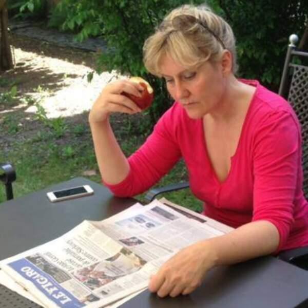 Cinq fruits et légumes par jour + Le Figaro : la recette du bonheur pour Nadine Morano