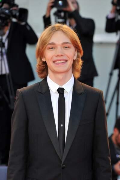 Le jeune acteur américain Charlie Plummer
