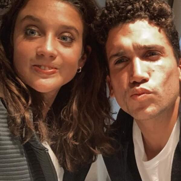C'est toujours l'amour fou entre les acteurs Maria Pedraza et Jaime Lorente.