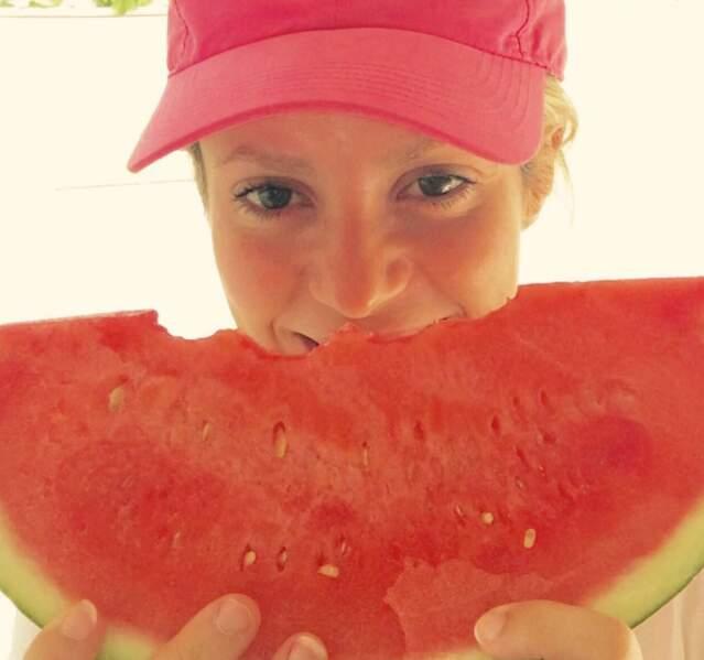 N'oubliez pas : mangez 5 fruits et légumes par jour, comme Shakira.